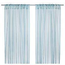 Curtains With Turquoise Turquoise Curtains Ebay