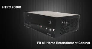 Case For Home Theater Pc by Nmediapc Black Aluminum Panel U0026 Steel 1 0mm Secc Htpc 7000b