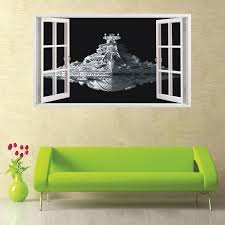 creative home decor 3d wall stickers cartoon