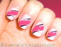 13 simple nail designs for beginners with short nails easy pink