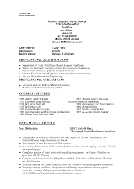 Sample Of Administrative Assistant Resume by Chief Engineer Sample Resume 22 Zaw Min Khaing Chief Engineer