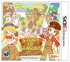 amazon black friday 3ds mushroom kingdom artwork story of seasons trio of towns nintendo 3ds video games