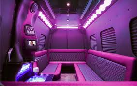 pink car interior pink mercedes party bus clean ride limo