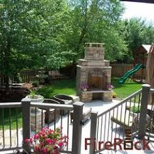 Firerock Masonry Fireplace Kits by Diy Build Outdoor Fireplace For The Home Pinterest Gardens