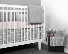 Olli And Lime Crib Bedding Olli Lime Modern Crib Bedding Modern Gray Triangle Nursery