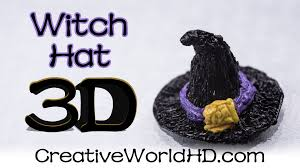 halloween hats how to make witch hat halloween 3d printing pen creations