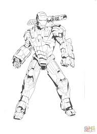 iron patriot coloring pages eson me