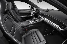 porsche panamera turbo black new porsche panamera turbo topcar tuning has custom interior