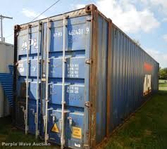 2004 apl conex storage container item dd0770 sold octob