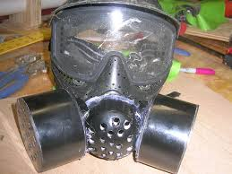 make a non functional gas mask 5 steps