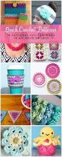 Crochet Patterns For Home Decor Best 25 Fast Crochet Ideas On Pinterest Crocheting Diy Crochet
