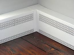 Radiator Cover Sheet Metal by Radiator Covers By Smk Enterprises Baseboard Covers