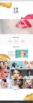 professional makeup artist websites 15 free website templates with built in features