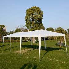 Outdoor Patio Canopy Gazebo by Costway 10 U0027x30 U0027heavy Duty Gazebo Canopy Outdoor Party Wedding Tent