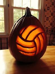 well look at that a volleyball pumpkin awesome justehjthings