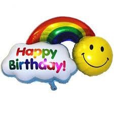 aliexpress com buy 18 inch happy birthday foil balloon helium