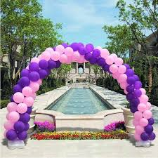 wedding arch balloons 1 set pvc arch balloons tools kit wedding birthday party upright