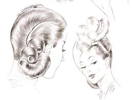 1940s hairstyles u2013 the sidesweep craze of 1945 glamourdaze