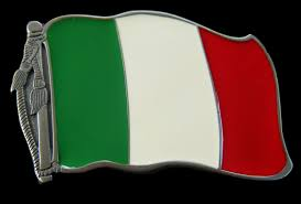 Italy National Flag Italy Italian Belt Buckle