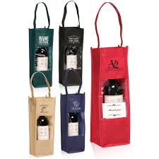 wine bottle gift bags personalized wedding favor bags discountmugs