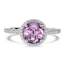 purple diamond engagement rings 58 colored engagement rings brides