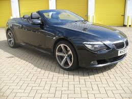 bmw 6 series for sale uk used bmw 6 series 2008 petrol 650i sport 2dr convertible black