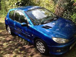 peugeot 206 blue petrol manual in whalley lancashire gumtree