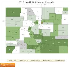 Colorado Population Map Colorado Rankings Data County Health Rankings U0026 Roadmaps