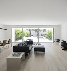 All White Home Interiors Elegant All White Home Surrounded By Green Space In Parede