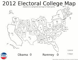 2016 Electoral Map Pre by Frontloading Hq November 2012