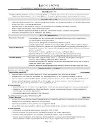 sle executive resume cover letter sle resume of sales executive sle cv of sales