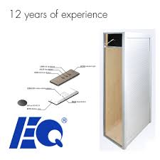 newest motorized aluminum kitchen cabinet electric rolling door