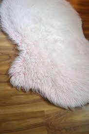 Faux Fur Sheepskin Rug Faux Fur Rug Tutorial Homegrown In The Valley