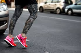 the stylish rise of leg tattoos for men british gq