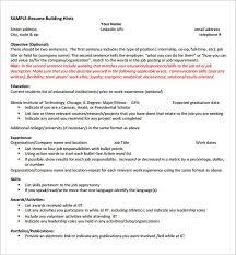 good resume exles for internships best internship resume hvac cover letter sle hvac cover