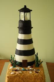 lighthouse cake topper lighthouse cake a wedding cake