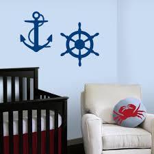 Sailboat Decor For Nursery Nautical Theme Nursery Decor Anchor Wall Decal Anchor Decal