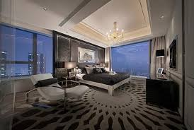 Stylish Master Bedrooms With Carpet - Wall carpet designs