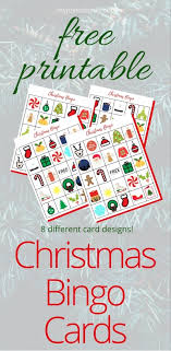 printable christmas bingo cards pictures free printable christmas bingo game my joy in chaos