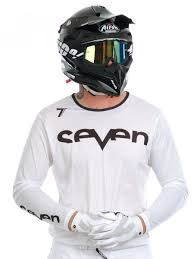 mens motocross jersey seven mx white 2017 annex staple vented mx jersey seven mx