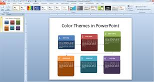 powerpoint design colors working with custom color palettes in powerpoint 2010