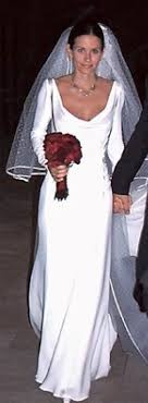 cox wedding dress cox marriage to david arquette