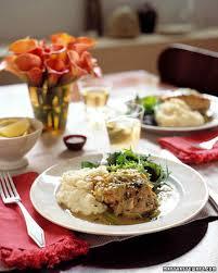 fall menus martha stewart