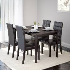 Cappuccino Dining Room Furniture Shop Corliving Atwood Cappuccino Dining Set With Rectangular