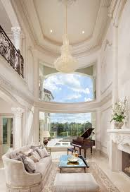 gorgeous home interiors curved windows vaulted ornate ceiling gorgeous home