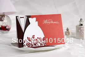 wedding gift card ideas free shipping 20x creative wedding invitation card customized with