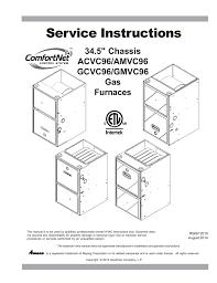 comfortnet acvc9 service manual