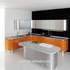 orange lacquer kitchen cabinets orange lacquer kitchen cabinets