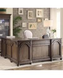 bargains on darby home co broad brook executive desk with return