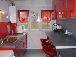 idee deco cuisine grise vasque salle de bain en verre
